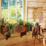 Kambarinės gėlės ir interjeras